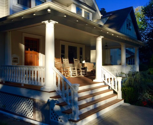 Colonial Deck Posts