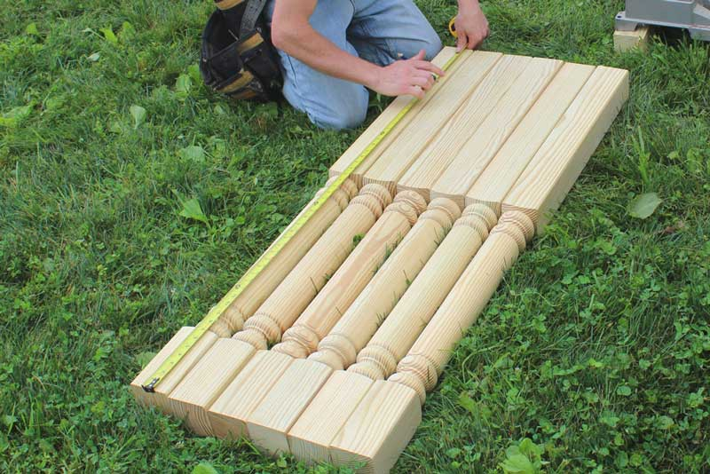 How to Install Deck Posts - Cutting the Posts