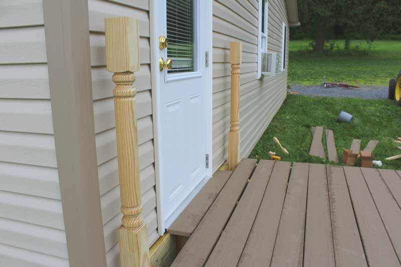 How to Install Deck Posts
