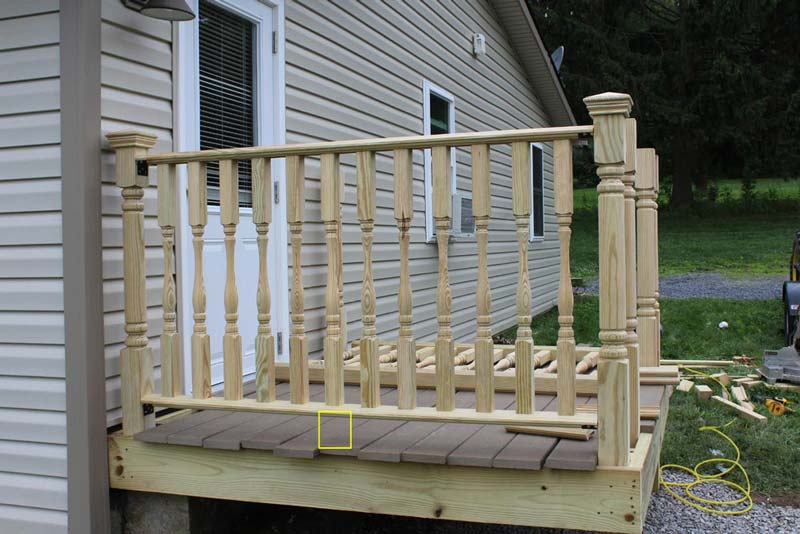 How To Install Handrails and Lattices - Step 3 - Install Support