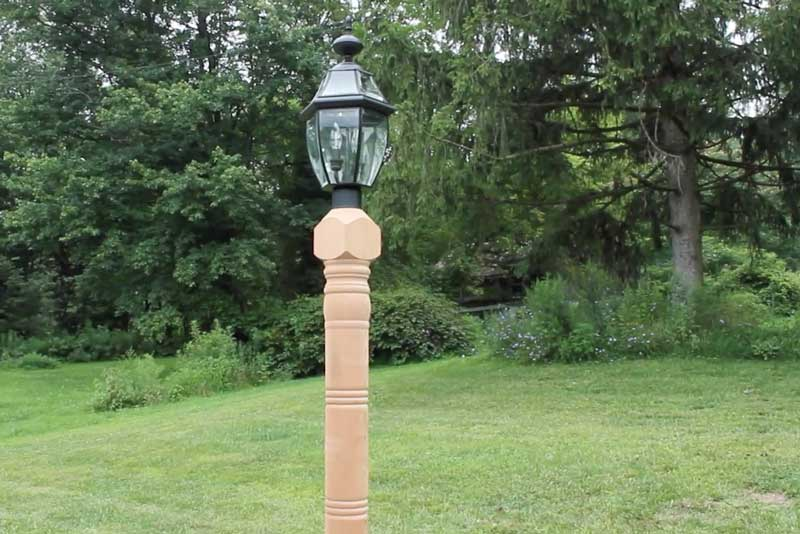 How to Install Lamp Posts - Guide - Wiring