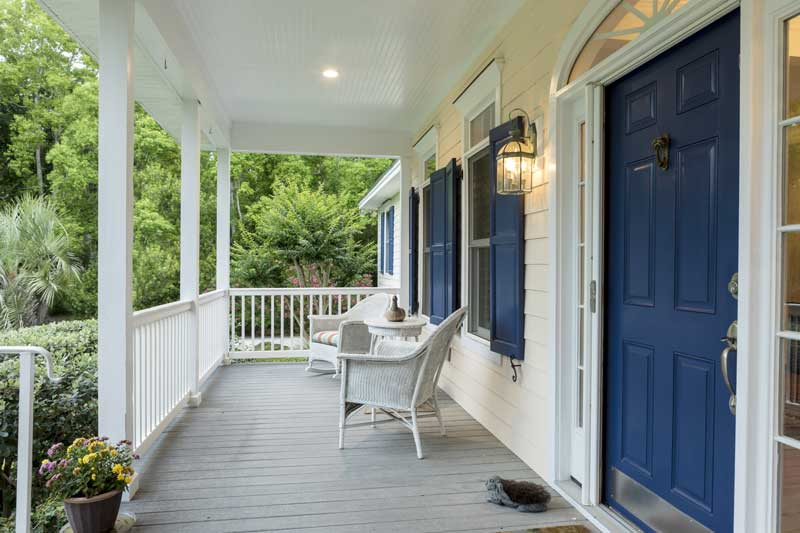 How to Install Porch Posts